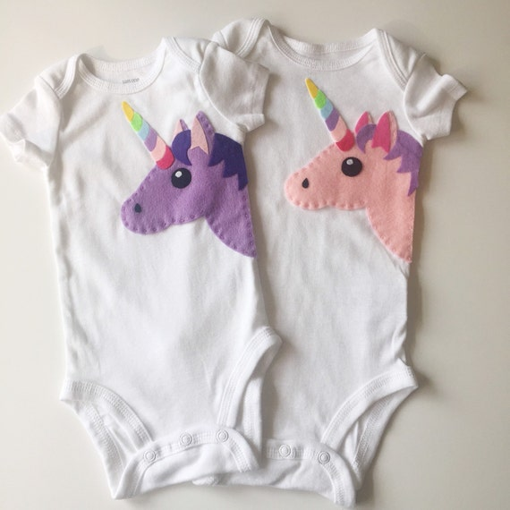 unicorn t-shirt onesie birthday girl