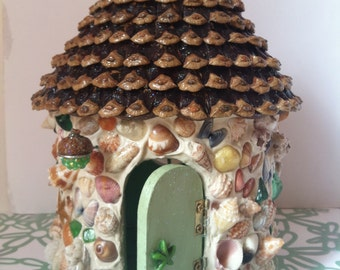 Periwinkle Fairy House