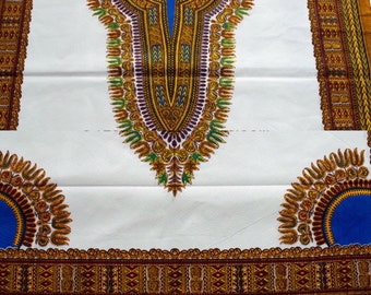Dashiki/African Print Matching Bowtie
