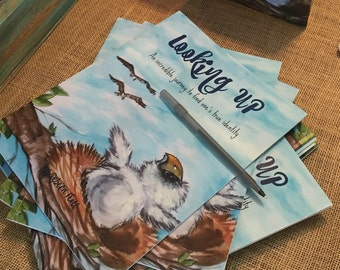 Looking up by Rebeca Flott,Childrens book,Paper back-signed by the autor