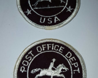 Vintage early 1960's Post Office Dept USA, pair, Mail Carrier, postal employee