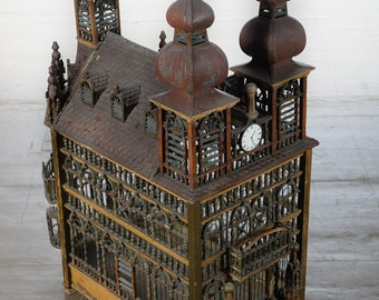 Monumental English Victorian Bird Cage c.1880s