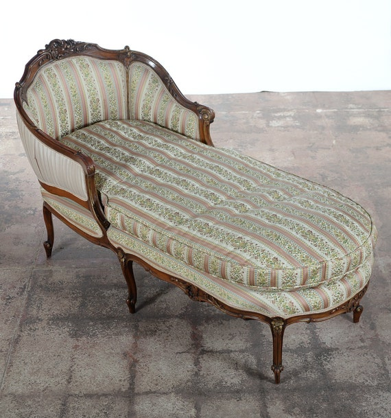 19th century louis xv fabulous carved mahogany for 19th century chaise lounge