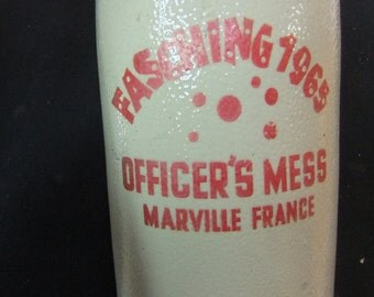 Vintage Stein / Tankard / Mug - Officers Mess Munich, Germany - Marville France 1965
