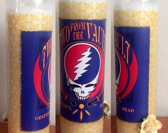Grateful Dead Dlx Candle