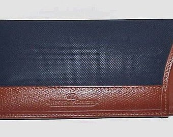 Jaeger Le Coultre Leather and Textured Rare EYEGLASS CASE