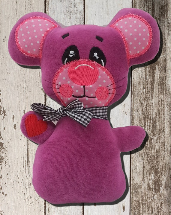 ith embroidery design bright mouse