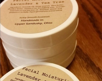 Lavender Tea Tree Facial Moisturizer