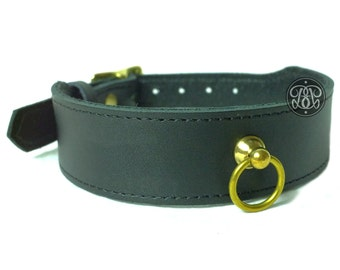 Golden Eye Submissive Collar