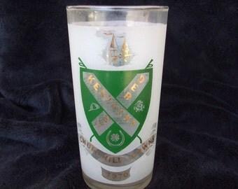Vintage 1970 Kentucky Derby Glass, Churchill Downs Kentucky , Mint Julep Glass