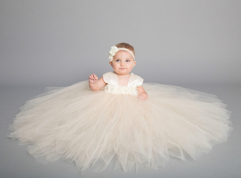 Toddler Girl Dresses Tulle Flower
