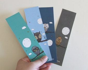 Bookmarks - Owl Collection (4 Bookmarks)