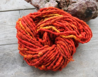 Cold one? - handspun ART yarn