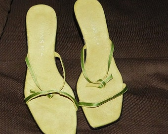 Made in Italy Lime Green Shoes Size 7