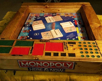 Stadium Style Monopoly Here And Now Game