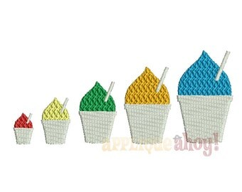 Snowball Embroidery Design - Multiple Sizes - Machine Download
