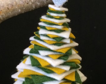 Felt / Felted Wool Christmas Tree Ornament