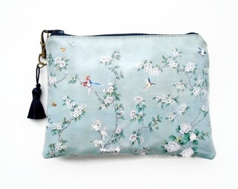 Waterproof Humming bird and Cherry Blossom Womens Wallet