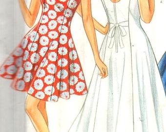 "New Look 6708, Sz 6-16/Bust 30.5-38""/EUR 32-42,  Sweetheart neckline dress, Sleeveless Princess Seam dress in 2 lengths,UNCUT Misses pattern"