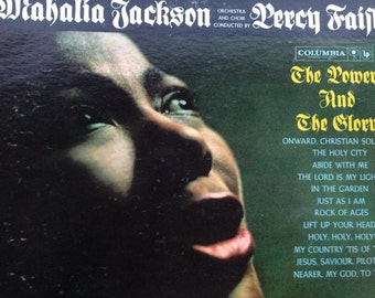Mahalia Jackson conducted by Percy Faith - The Power and the Glory - vinyl record