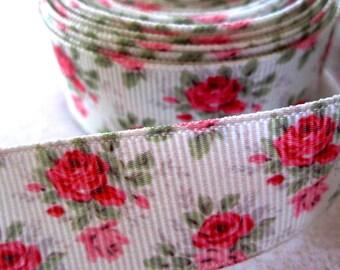 7/8'' -  22 mm Rose Grosgrain Ribbon