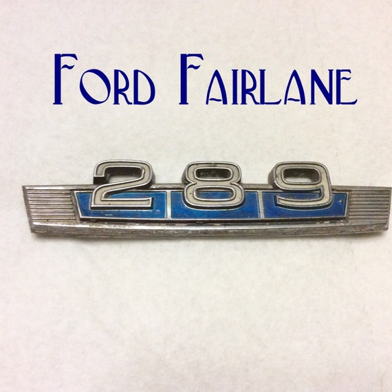Classic Ford Emblems Decals : Vintage ford fairlane emblem adronment for car