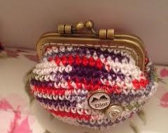 Handmade crochet  purse for coins