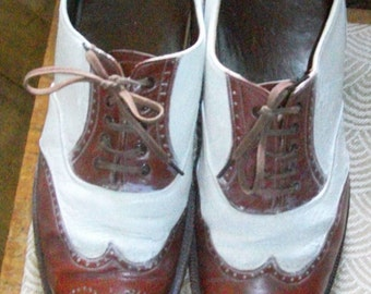 American 1940s Spectator shoes Orginial! Size 6 and half