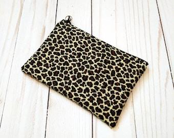 Leopard Small Zipper Pouch