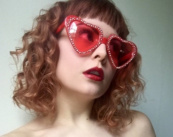 Red Heart Sunnies