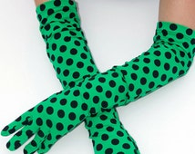 Popular items for polka dots gloves on Etsy