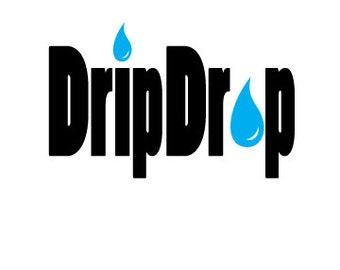 Drip Drop vinyl sticker