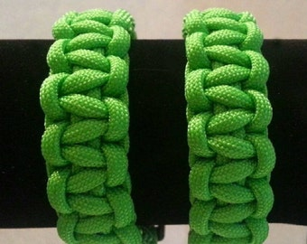 Small Neon Green Paracord Bracelet