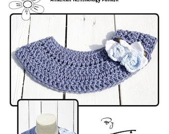 Cleo Collar Crochet Pattern (American Terminology)