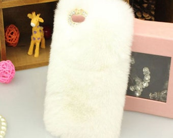 Stylish Furry and Fluffy  Phone Case  for iPhone 5/5s, 6, and 6P
