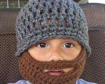 beard hat, baby beard hat, bearded hats, beard hats, boys hat, croxhet hats l, crochet  beard hat