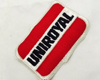 Vintage Uniroyal Fabric Patch
