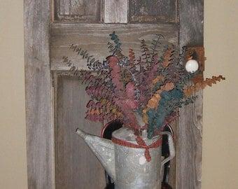 Grey Antique Door , Primitive Door , Weathered Wood Door , Grey Weathered Door , Rustic Door