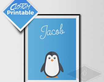 Custom Printable Animal Poster For Kids