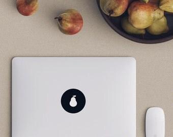 Pear Macbook Decal Laptop Sticker Macbook Pro Air Vinyl Decal Macbook Sticker Macnip azs