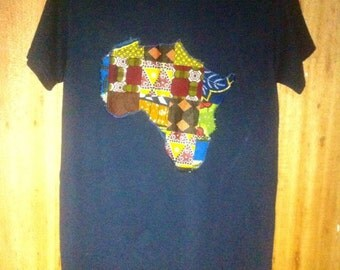 Patchwork Africa and Symbols