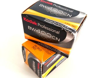 2 rolls x 35mm Expired Kodak BW400CN Black and White Film