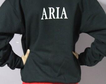 Pretty Little Liar Name Sweatshirt-Aria