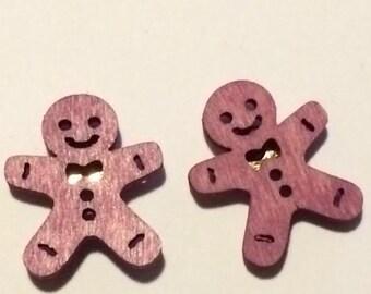 Fun and Festival Gingerbread Earrings