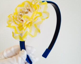 Yellow Flower Headband Hairband Hair Accessories