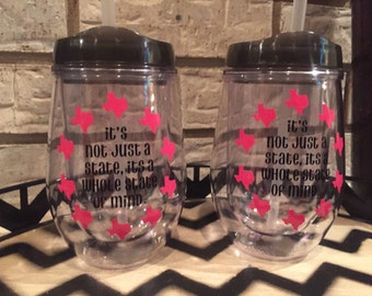 READY TO SHIP! Texas State of Mind Tumbler