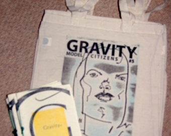 Gravity 5 Fashion Issue + Limited edition handprinted tote bag