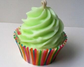 Key Lime Cupcake Candle
