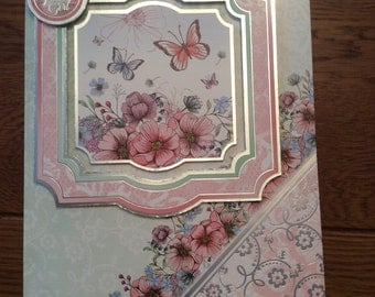 Handmade greetings card - to a special girl