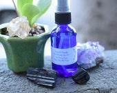 Black Tourmaline Elixir Sage Spray • Protection from Negative Energy • Reiki Charged • Gem Elixirs • Smudge Spray • Dalmatian Sage • 2 oz